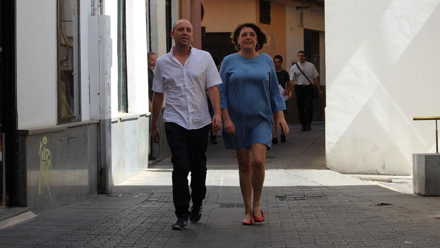 Ernesto Alba y Elena Cortés (PCA).