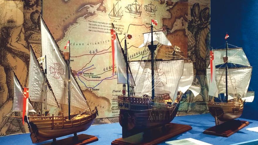 Interior del Museo Naval.