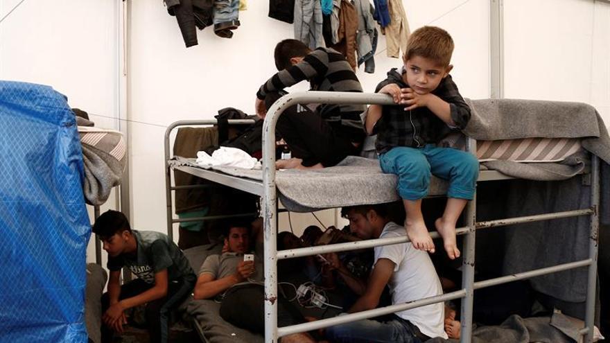 Refugiados en huelga de hambre en Grecia por la lentitud de la reubicación