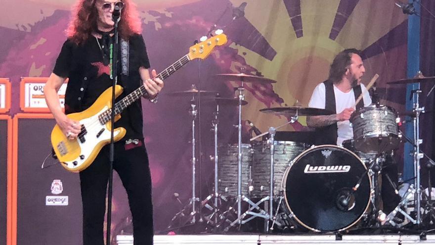 Los Purple sonaron de nuevo con Glenn Hughes, en el Music Legends.