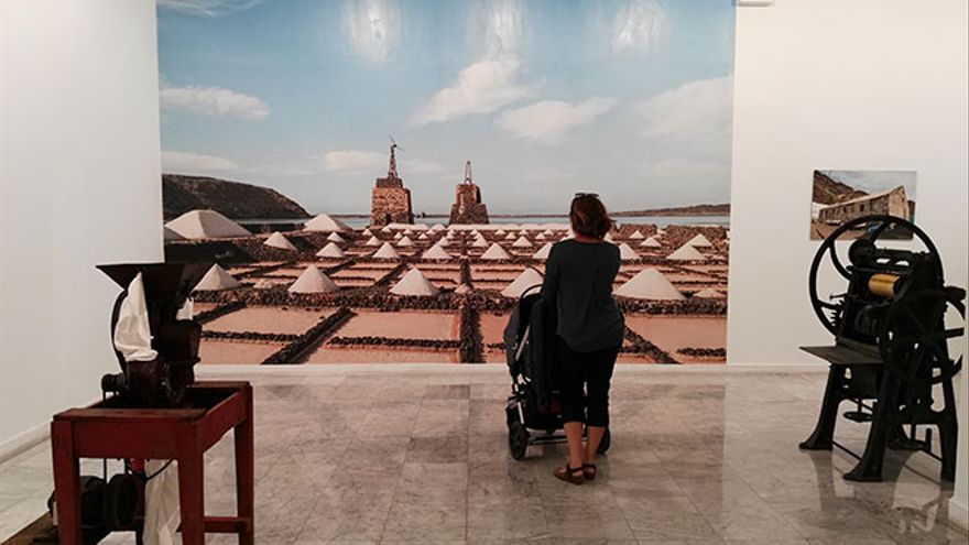 La fábrica de recuerdos de Lanzarote