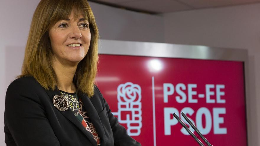 La secretaria general del PSE-EE, Idoia Mendia.