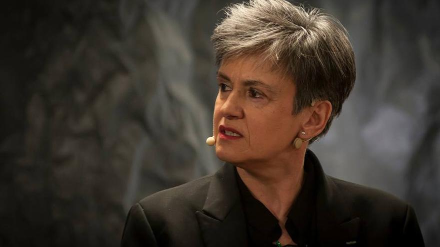 La escritora Luisa Etxenike. / Foto: TEDxAlmendraMedieval.