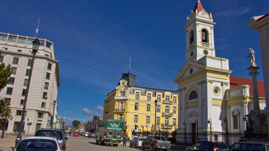 Centro de la ciudad magallánica de Punta Arenas, en Chile. VIAJAR AHORA