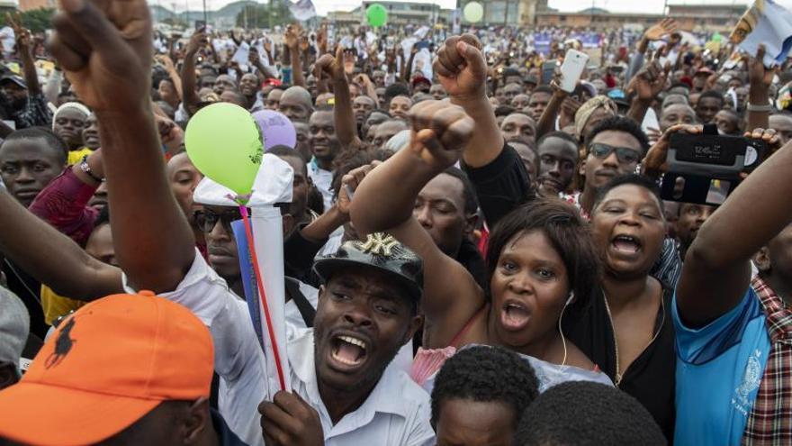 Camerún cierra la campaña electoral con Biya en busca de su séptimo mandato