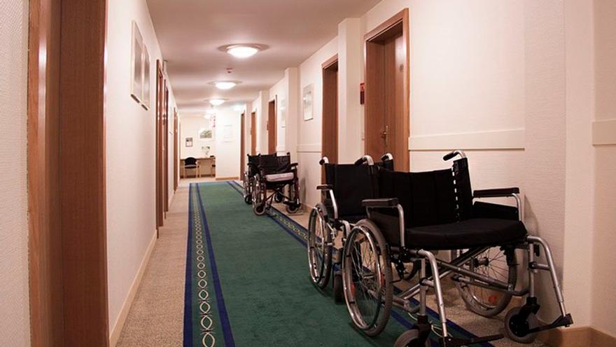 Imagen del interior de una residencia de mayores.
