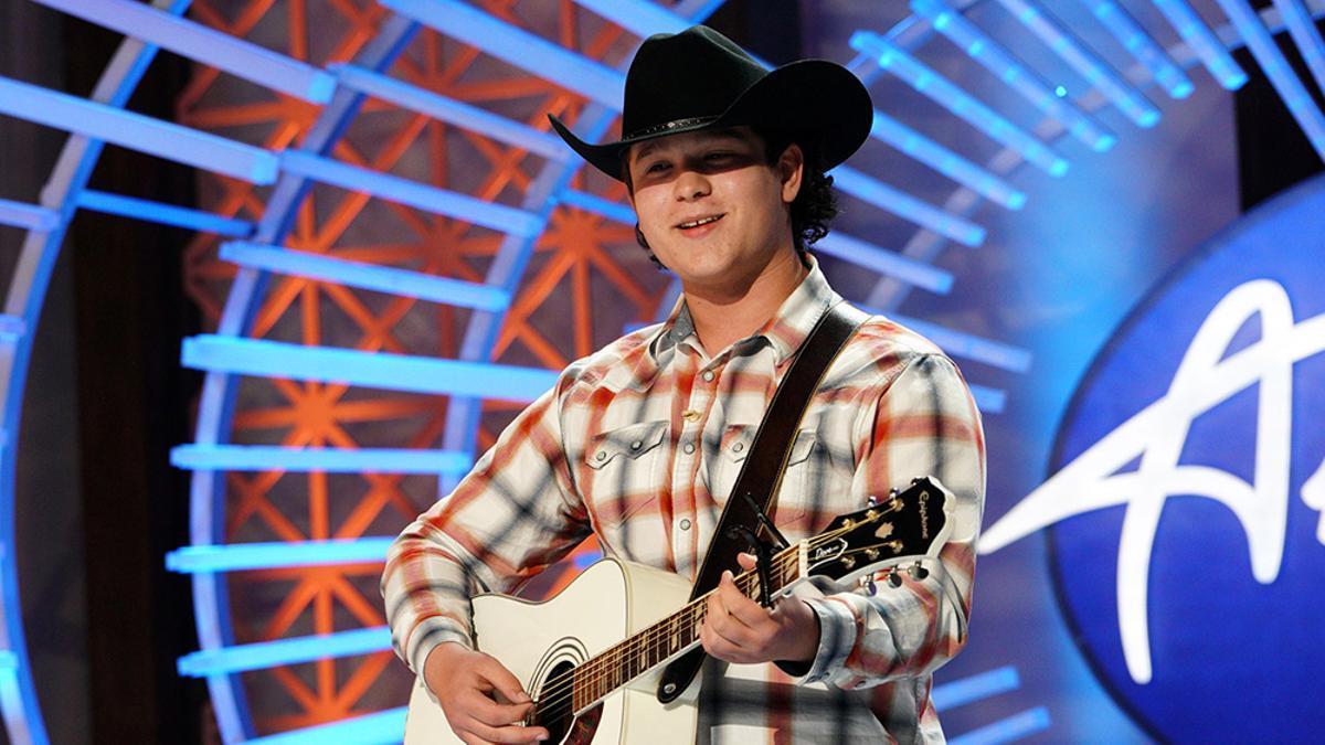Caleb Kennedy en 'American Idol'