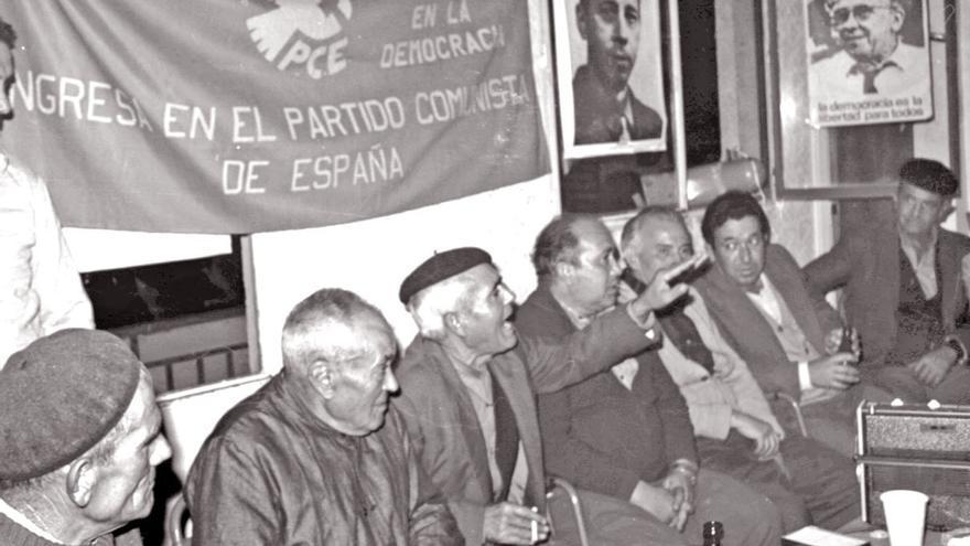 Sede del PCE en Don Benito, en 1977