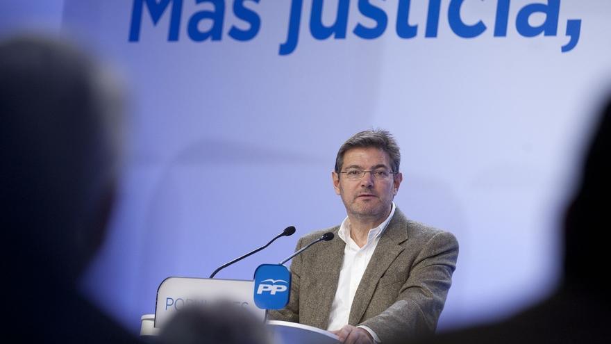 """Catalá critica que haya partidos que busquen """"resquicios"""" en las leyes para favorecer a los delincuentes"""