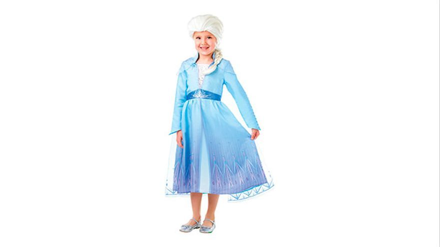 Disfraz Elsa, de Frozen.