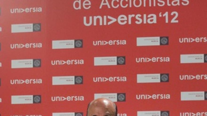 El Presidente De Banco Santander, Emilio Botín