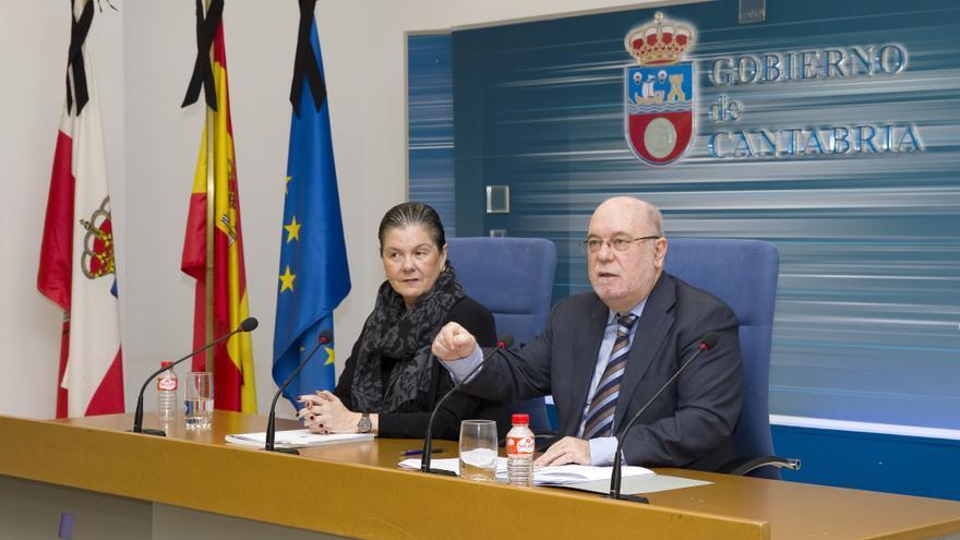 Sota ha comparecido en rueda de prensa para dar a conocer las cuentas de 2015. | PATRICIA PEREDA