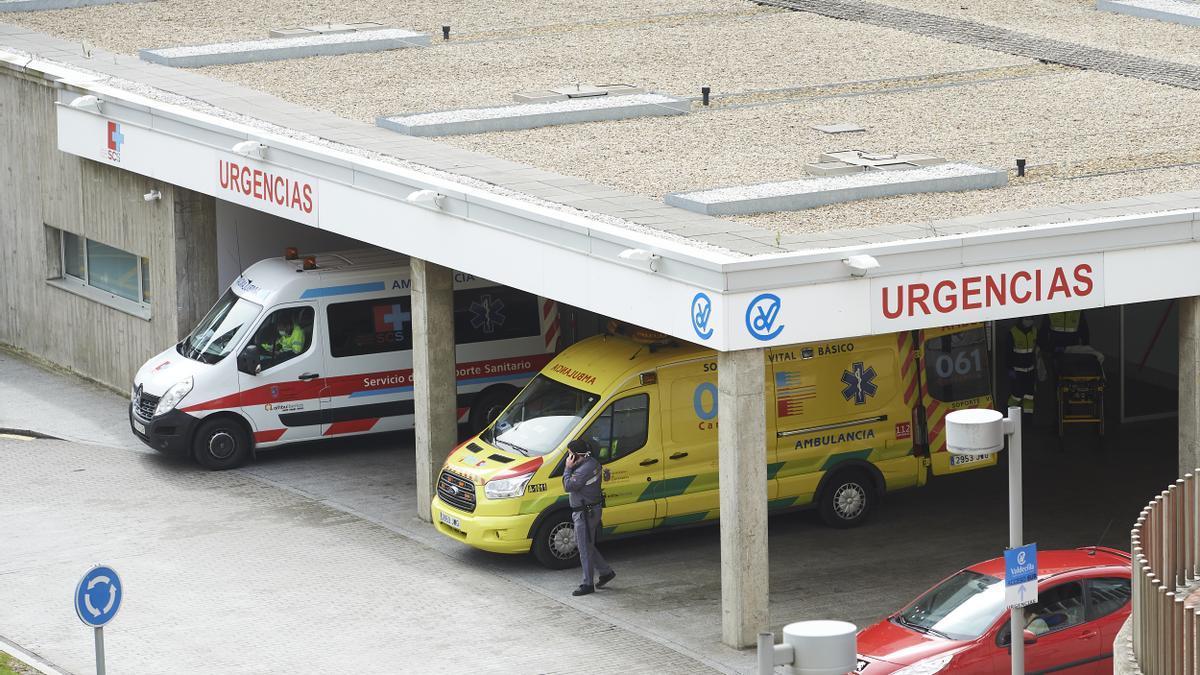 Ambulancias en Valdecilla