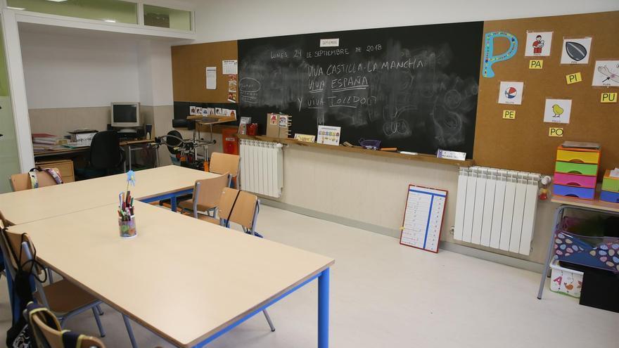 Aula de infantil en Castilla-La Mancha