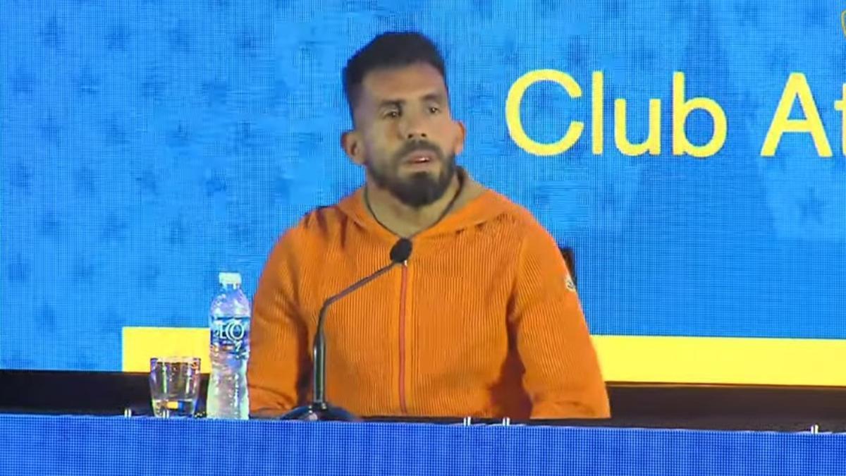 Tevez anunció que va de Boca.