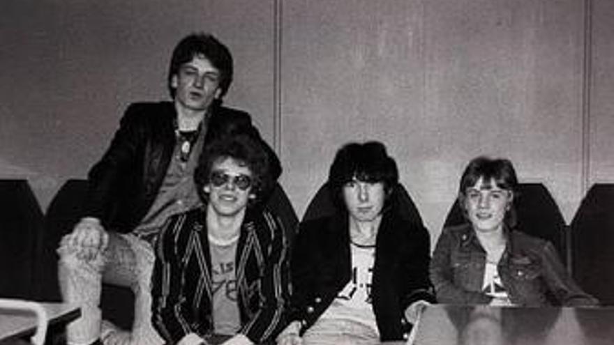 Fotografía de U2 en 1978