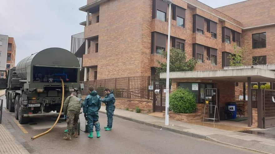 El Ejército ha realizado 563 intervenciones para luchar contra la Covid en la región