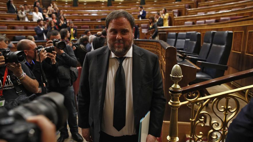 Junqueras pide ser acreditado como eurodiputado, pero la JEC le recalca que debe acatar la Constitución en persona