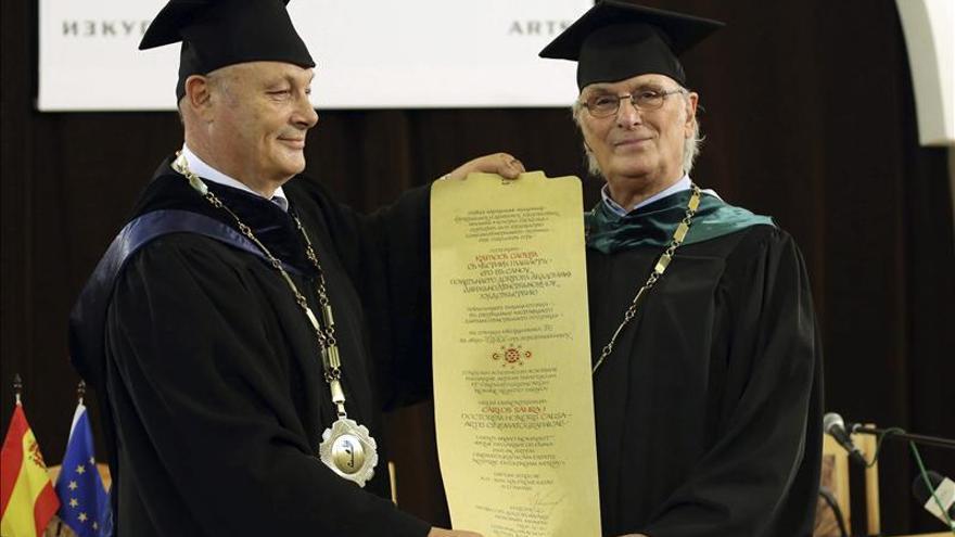 """Carlos Saura, """"doctor honoris causa"""" por la Academia de Cine de Bulgaria"""