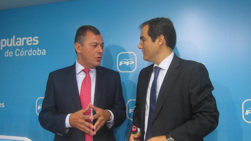 """Rojas (PP-A) dice que Sanz y Nieto son """"referencia para todos"""", en alusión a posibles candidaturas a la Junta andaluza"""