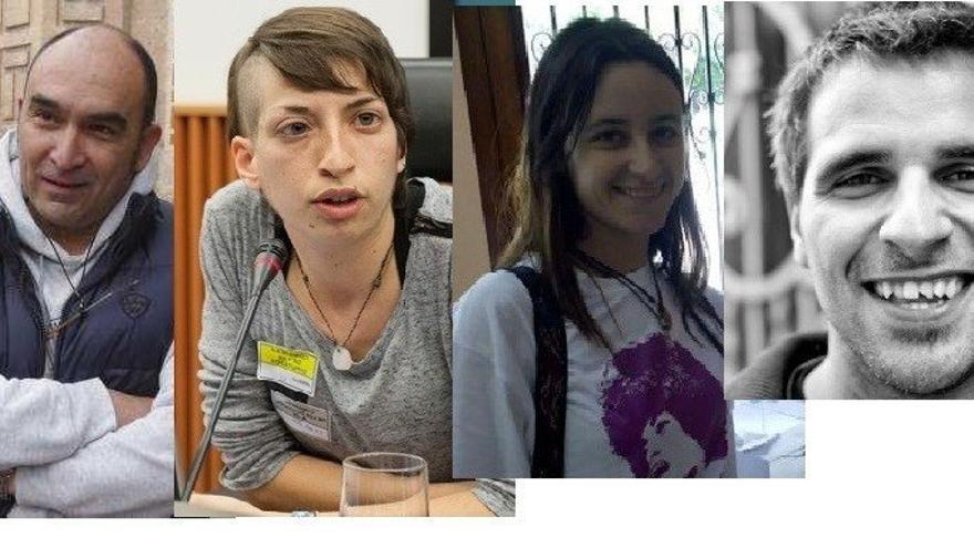 Los miembros de Esquerra Unida en València en Comú afectados por la resolución