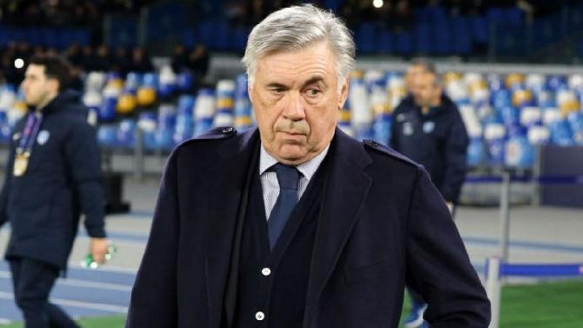 El nuevo entrenador del Real Madrid, Carlo Ancelotti