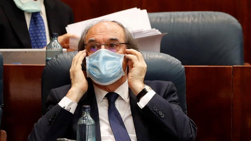 El portavoz del PSOE-M en la Asamblea autonómica, Ángel Gabilondo.