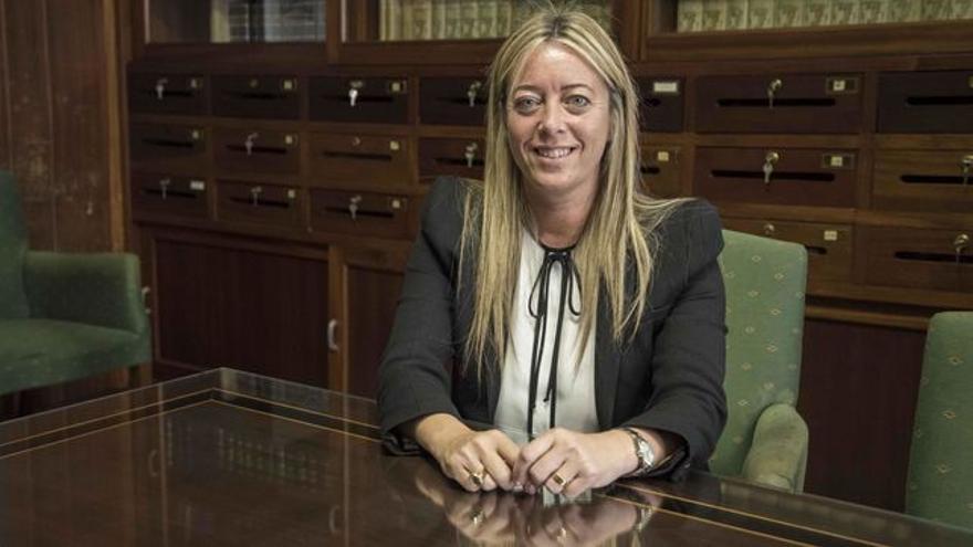 María de Haro es portavoz del grupo Popular en el Cabildo.