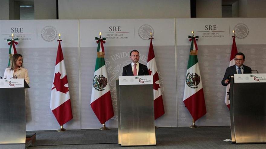Un nuevo pacto comercial entre EE.UU., Canadá y México sustituirá al TLCAN