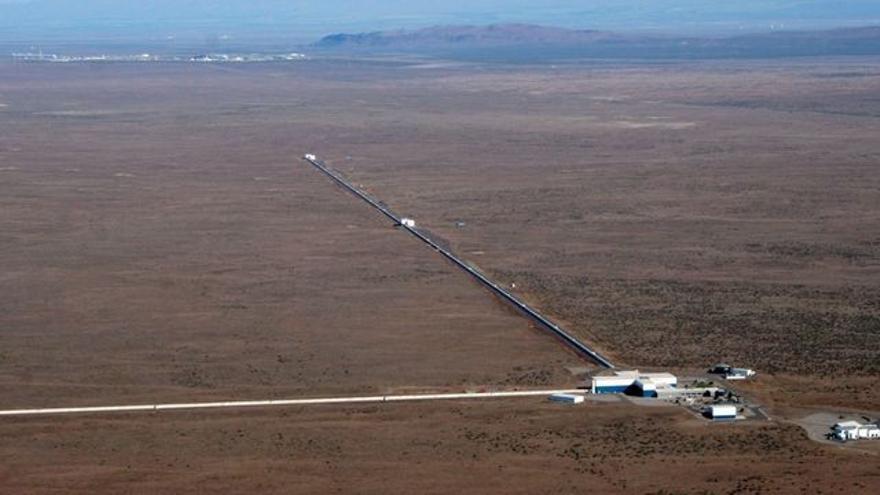 Imagen aérea del observatorio LIGO en Lousiana (EEUU)