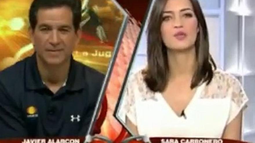 Sara Carbonero la vuelve a liar, por sus críticas a Mourinho en Televisa