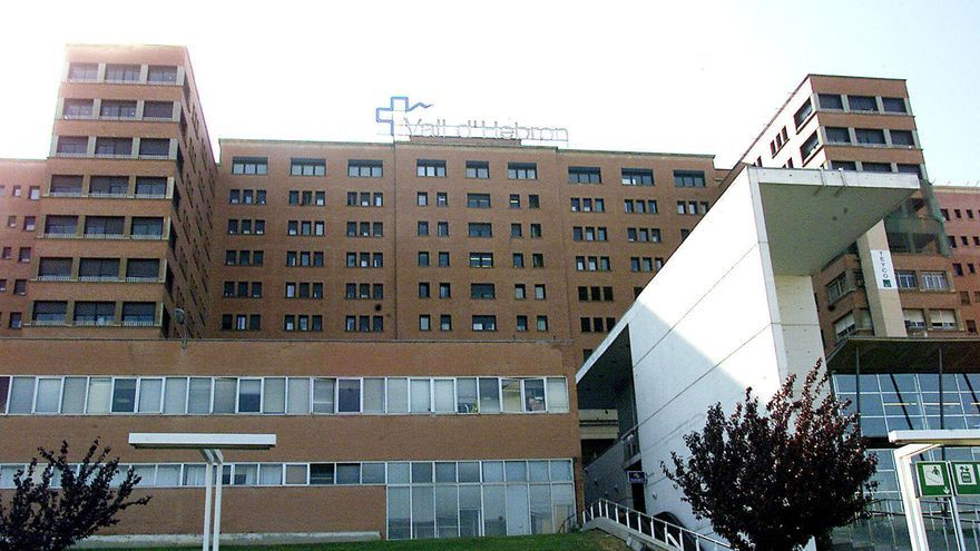 Fachada del Hospital del Vall d' Hebron de Barcelona..