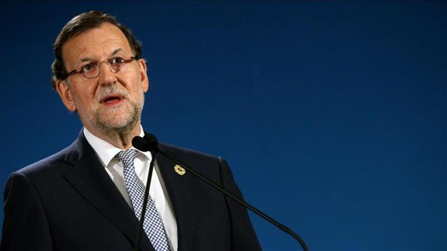 Rajoy les dice a las víctimas de violencia machista que no están solas