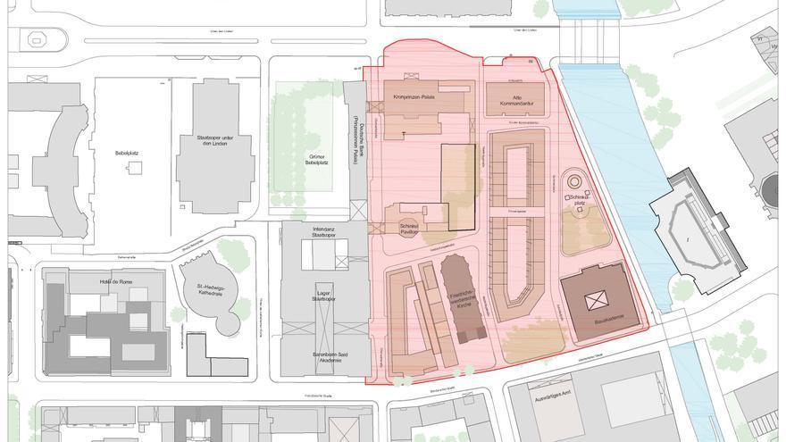 El mapa de la instalación