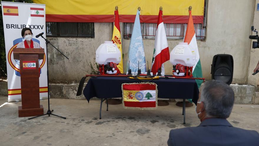 España pedirá formalmente el mando de la misión de la ONU en el Líbano