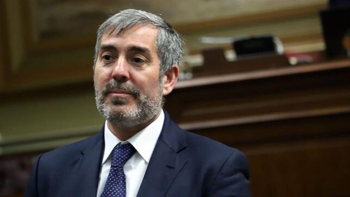 El senador Fernando Clavijo.