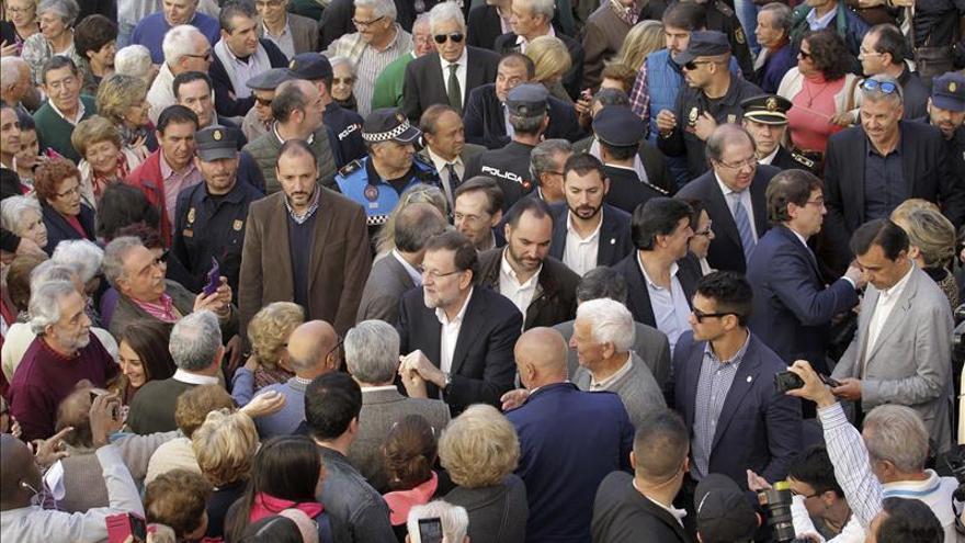 """Rajoy admite a Herrera """"errores"""" pero le promete estar siempre con C. y León"""