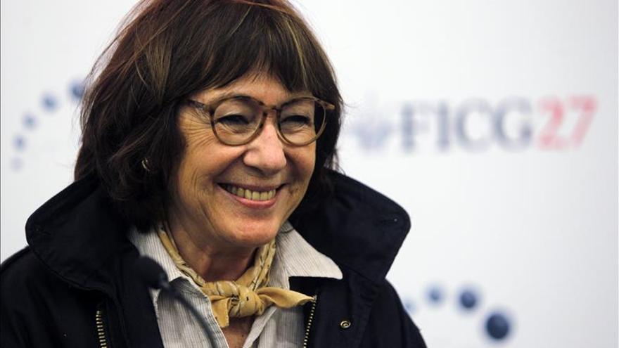 La cineasta Jeanine Meerapfel, directora de la Akademie der Künste de Berlín