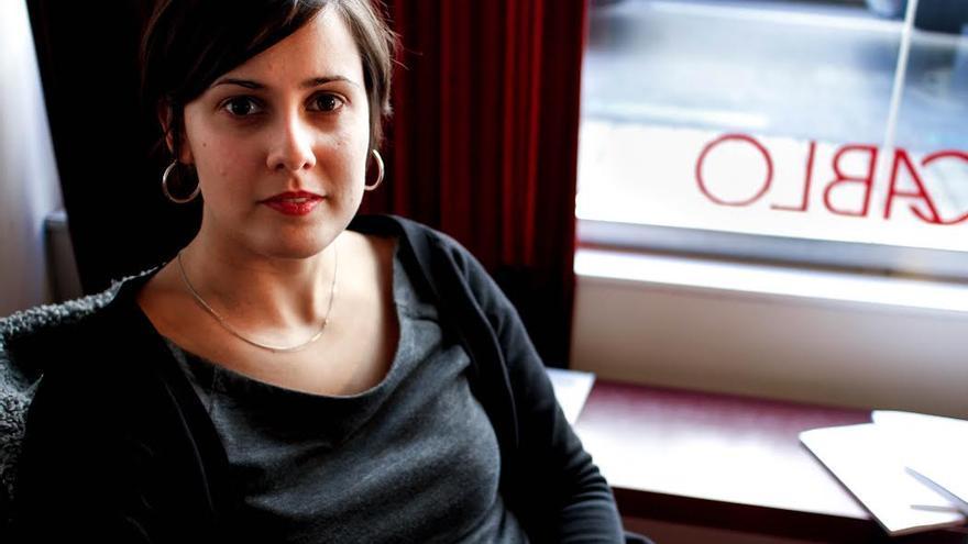 Jenn Díaz durante la entrevista. / Miguel Campos