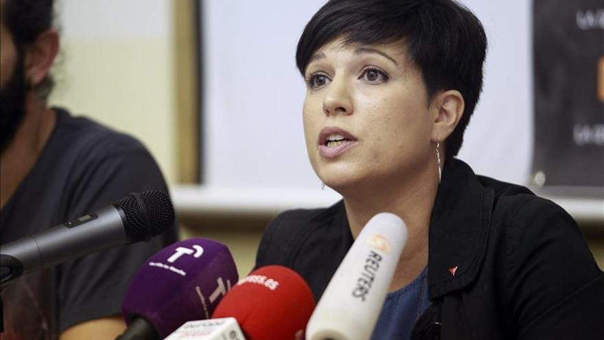 La exsocialista Talegón retira su apoyo a la candidatura Por la Izquierda