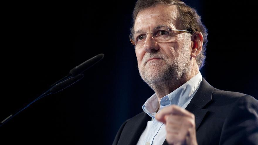 """Rajoy dice que sus encuestas son """"buenas"""" y el PP cree que calcular escaños es un """"juego de artificio"""""""