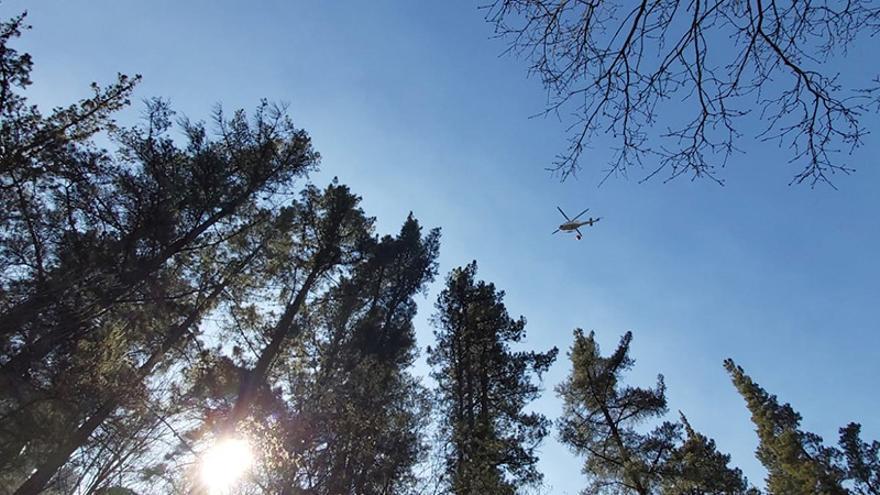 Cantabria registra 10 incendios forestales activos