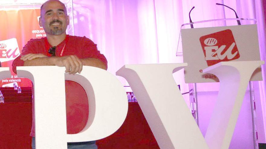 David Rodríguez, coordinador general de Esquerra Unida