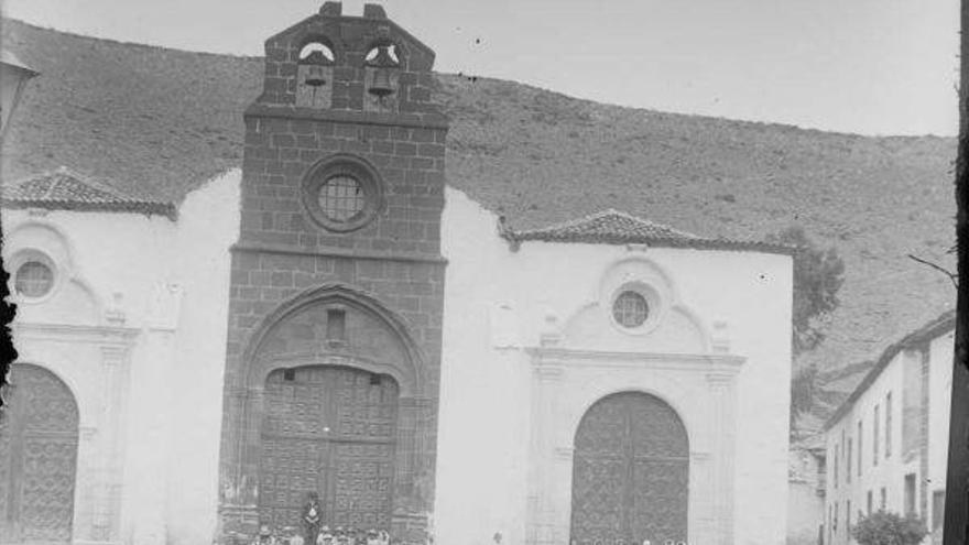 La iglesia de la Asunción a comienzos del siglo XX