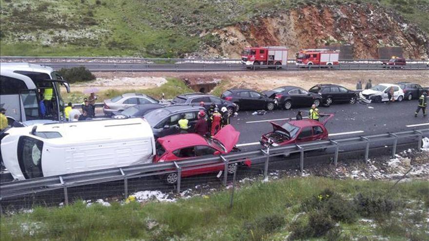 La DGT asegura que la mejora en la seguridad vial evitó un mal mayor en el accidente de la A-1