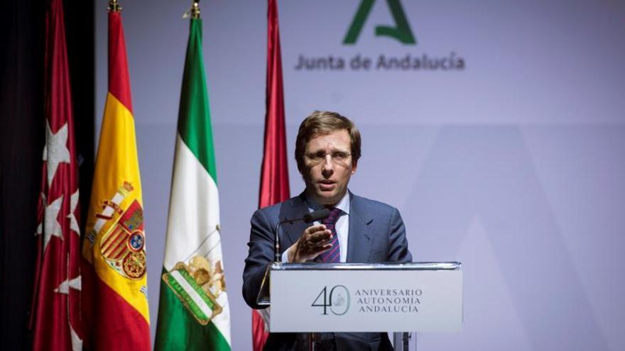 El alcalde de Madrid José Luis Martínez-Almeida.
