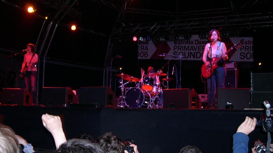 Sleater Kinney en el Primavera Sound de 2006