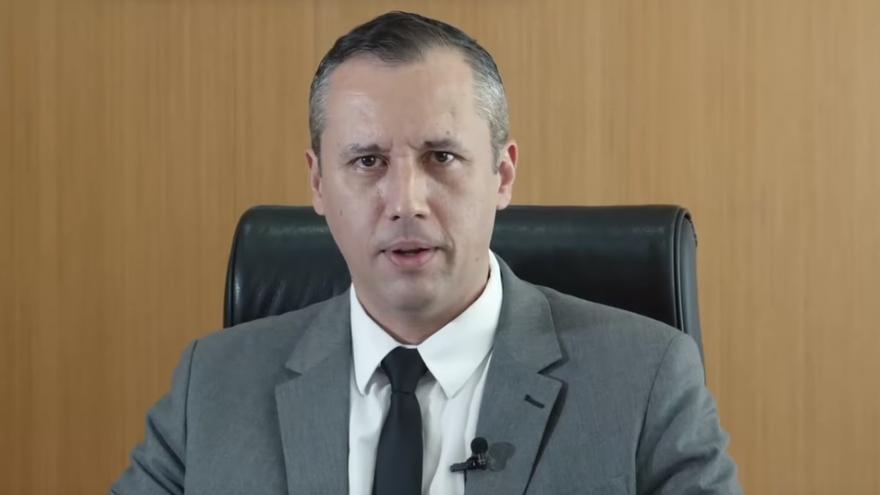 Roberto Alvim, secretario de Cultura, en el vídeo difundido.