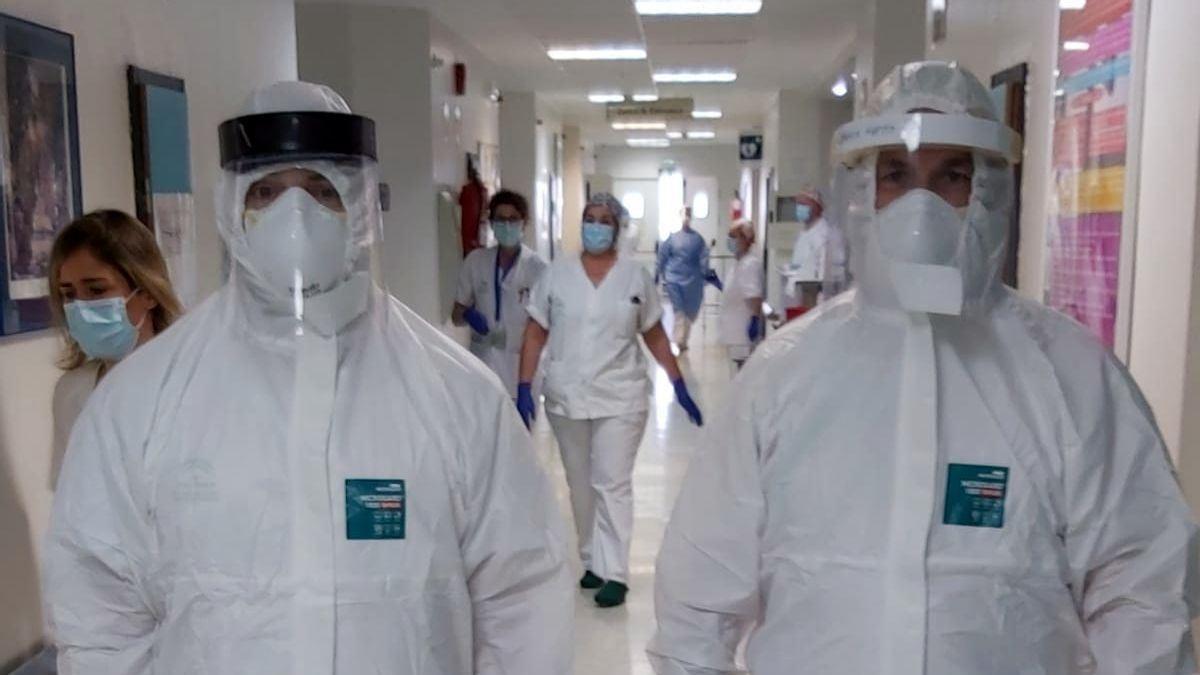 Los hospitales de Extremadura acogen a 126 personas con covid