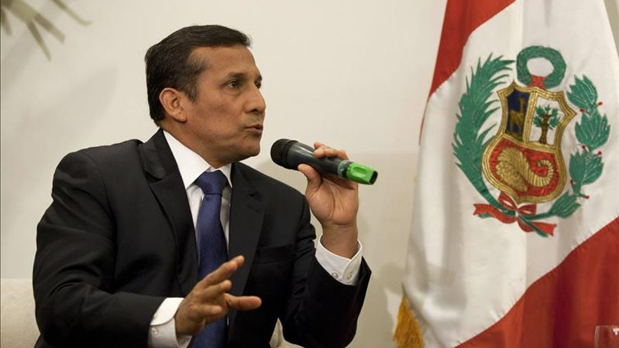 Humala anuncia que Perú erradicó más de 35.000 hectáreas de hoja de coca